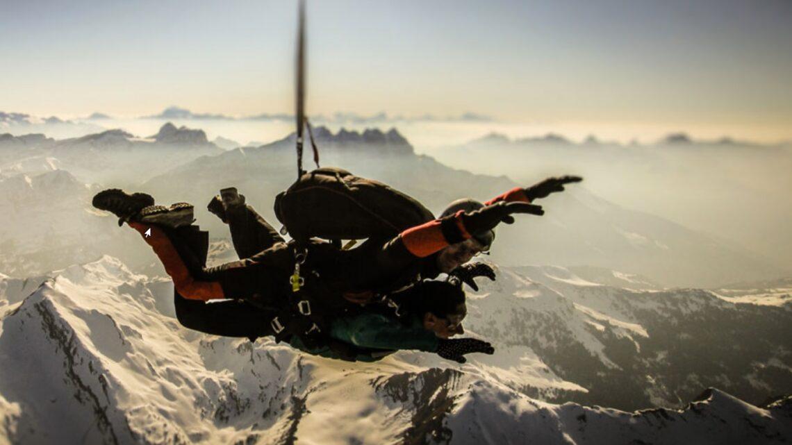 Faire le plein de sensations fortes dans le massif alpin