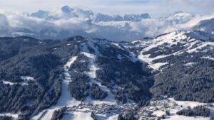paysage station ski les gets