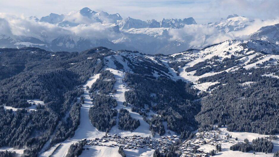 Les Gets: la station se prépare à l'affluence importante des skieurs